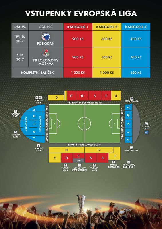 picture FC Zlín - Balíček Evropské ligy