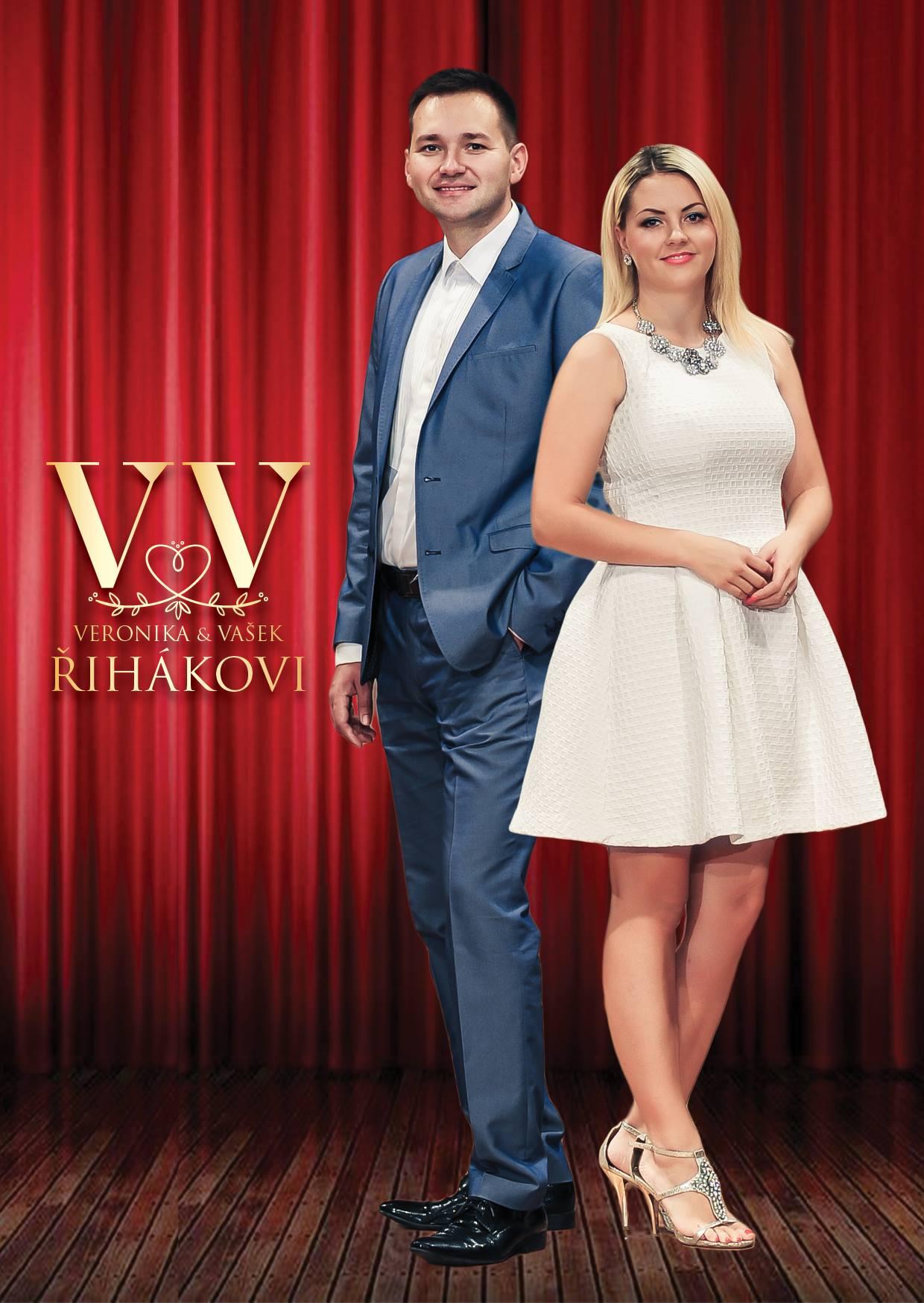 picture Veronika a Vašek Řihákovi a V & V Music Band