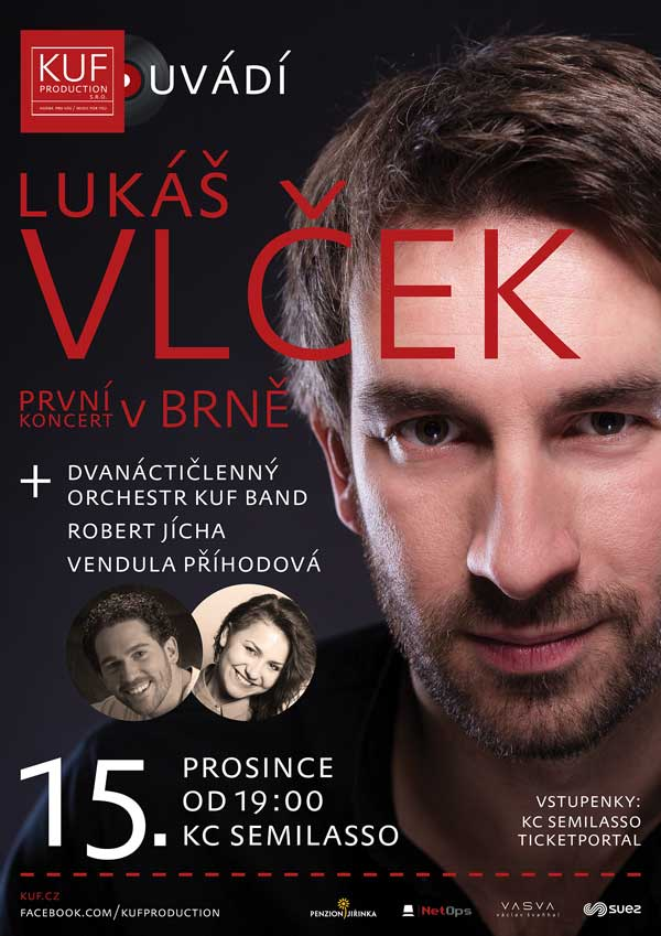 picture LUKÁŠ VLČEK - První koncert v Brně