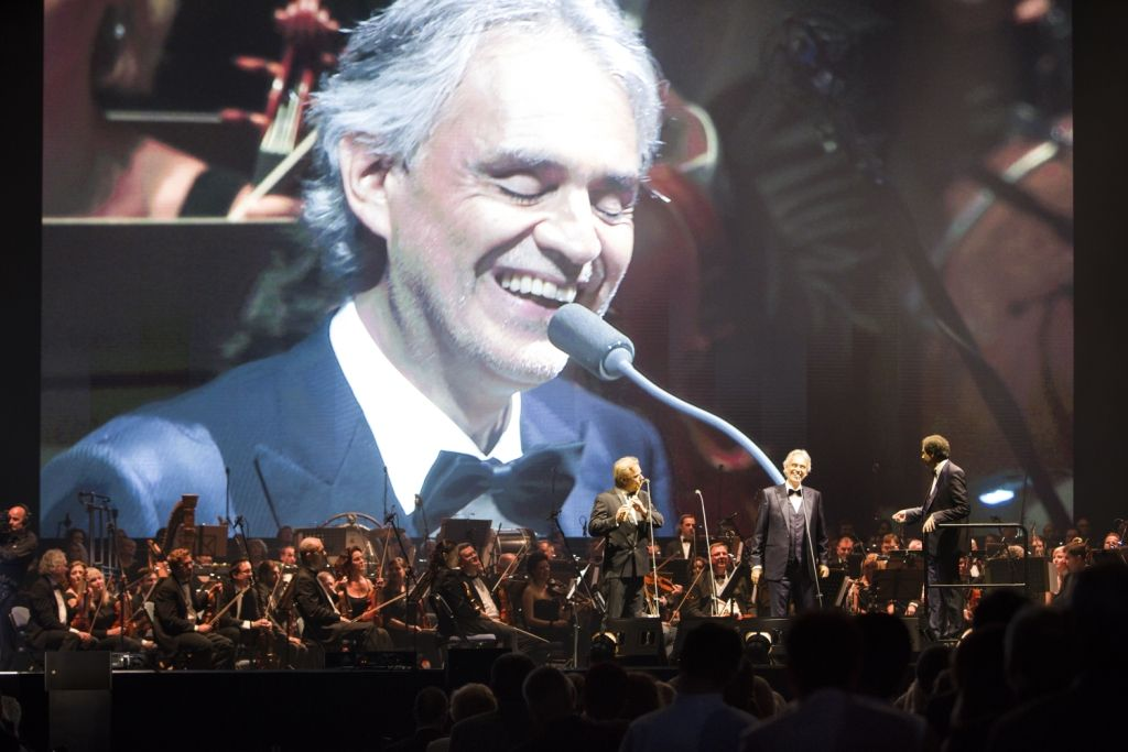 picture Andrea Bocelli in Concert 2019