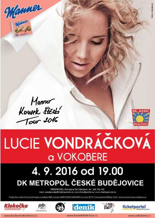 picture LUCIE VONDRÁČKOVÁ  MANNER KOUSEK ŠTĚSTÍ TOUR 2016