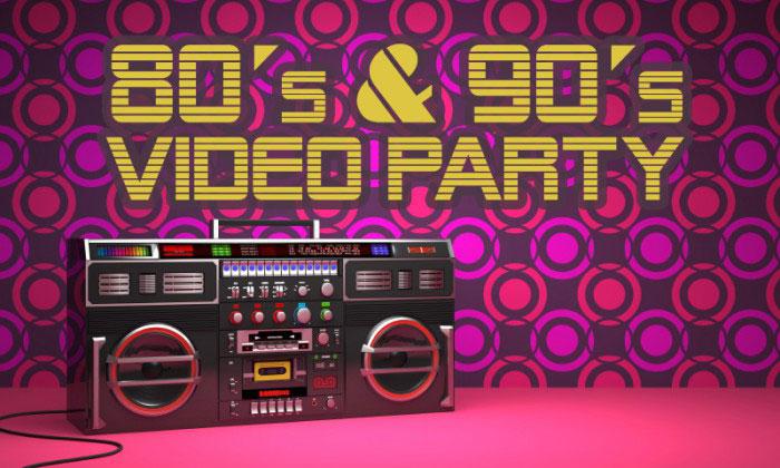 picture SILVESTROVSKÁ POP 80´s & 90´s VIDEO PARTY