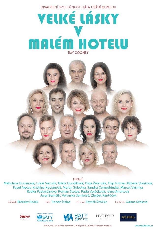 picture VELKÉ LÁSKY V MALÉM HOTELU /Divadlo Háta