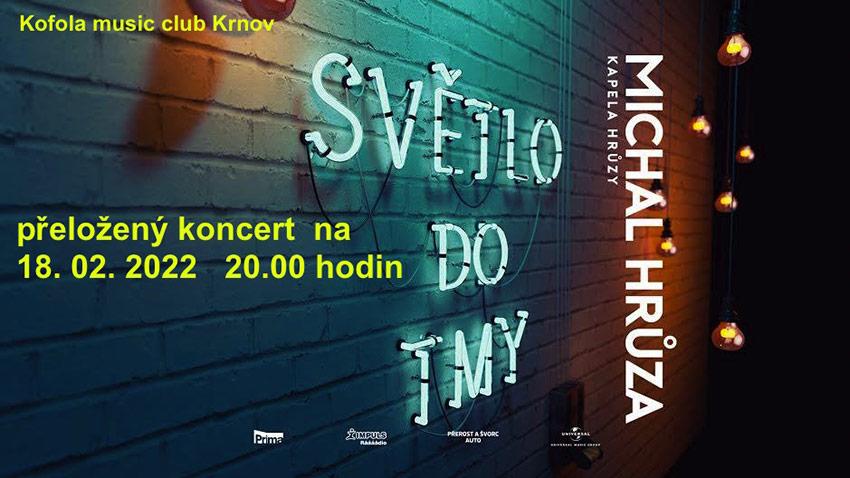 picture Michal Hrůza & Kapela Hrůzy - Světlo do tmy Tour