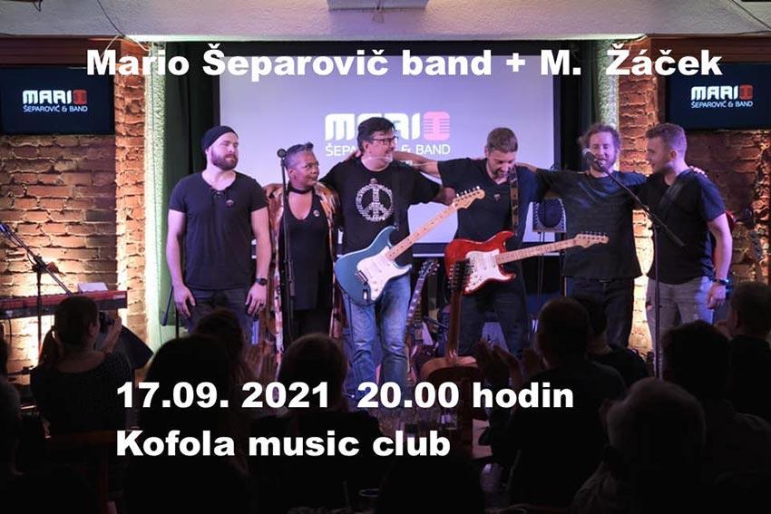 picture MARIO ŠEPAROVIĆ & BAND