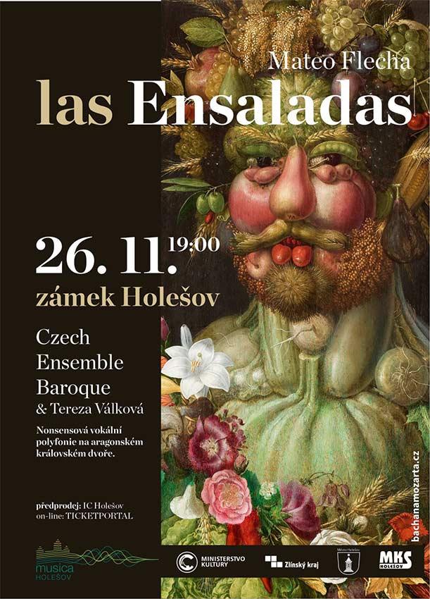 picture Mateo Flecha: Las Ensaladas / Czech Ensemble Baroque