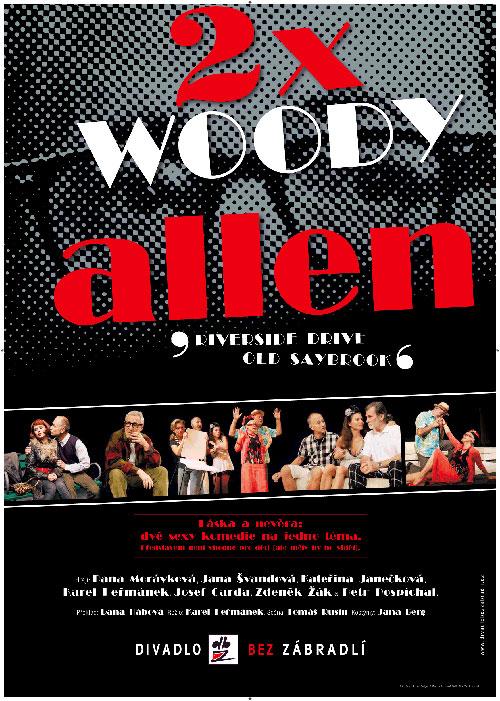 picture 2x Woody Allen