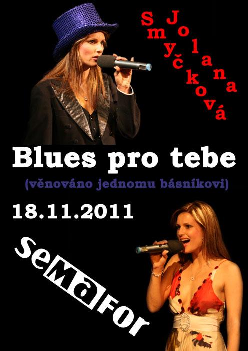 picture Jolana Smyčková: BLUES PRO TEBE