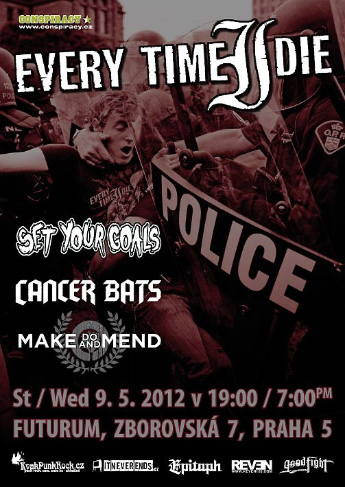 picture EVERY TIME I DIE, SET YOUR GOALS, CANCER BATS, ...