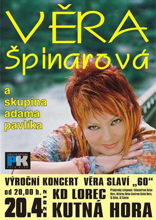 picture Věra Špinarová a skupina Adama Pavlíka