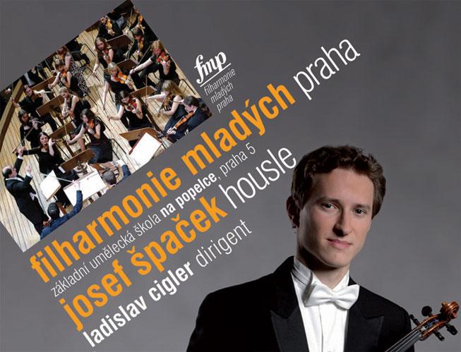 picture Filharmonie mladých Praha a Josef Špaček