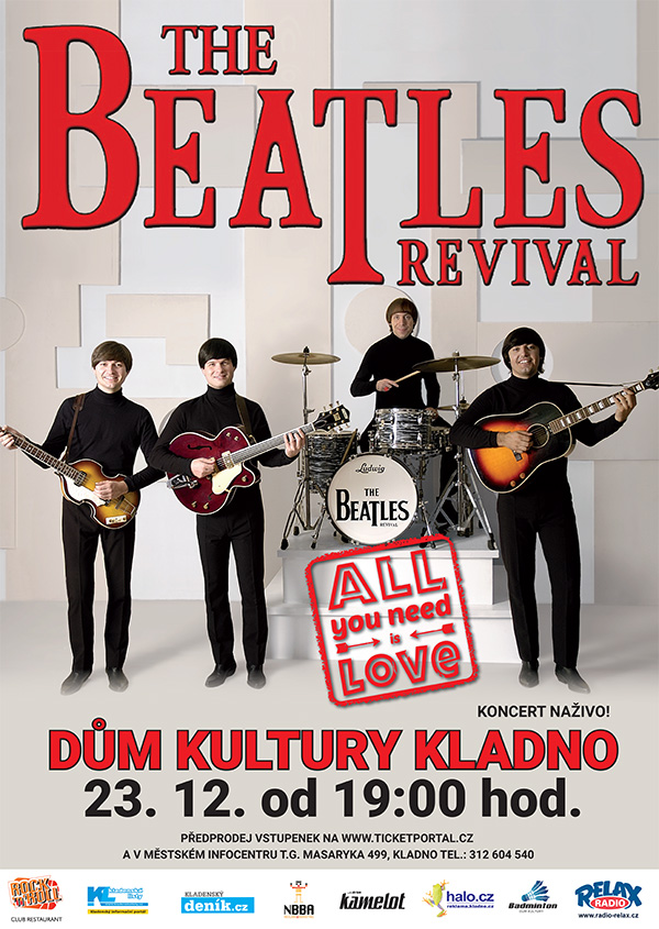 picture THE BEATLES REVIVAL: Vánoční koncert