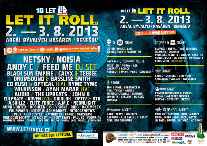 picture LET IT ROLL OPEN AIR CZ 2013