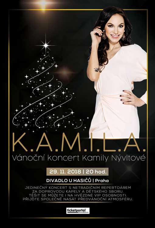 picture Vánoční koncert Kamily Nývltové