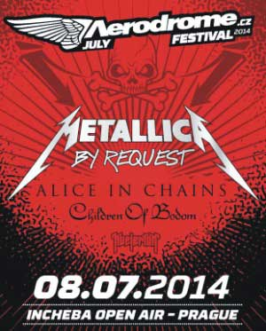 picture AERODROME Festival July METALLICA & Guests