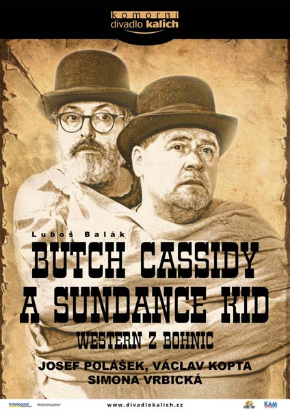 picture BUTCH CASSIDY A SUNDANCE KID (Western z Bohnic)