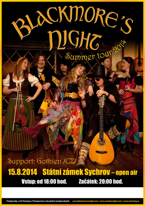 picture Blackmore´s Night Summer Tour 2014