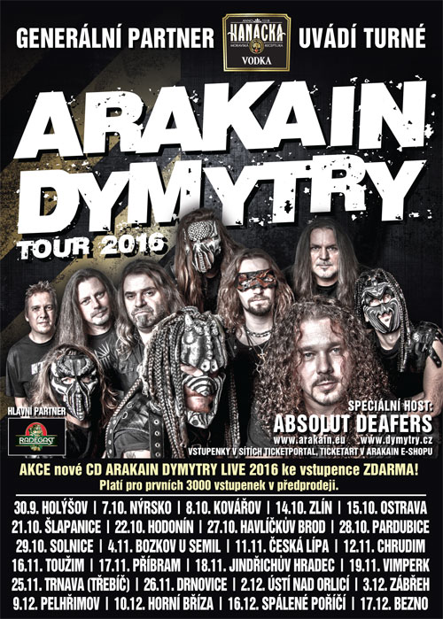 picture ARAKAIN DYMYTRY TOUR 2016