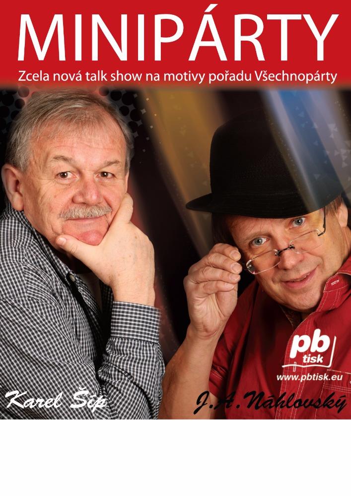 picture Minipárty s Karlem Šípem a J. A. Náhlovským
