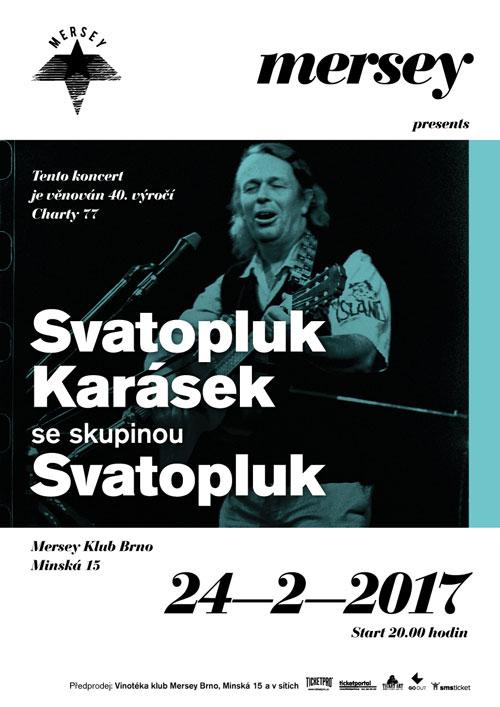 picture Svatopluk Karásek se skupinou Svatopluk