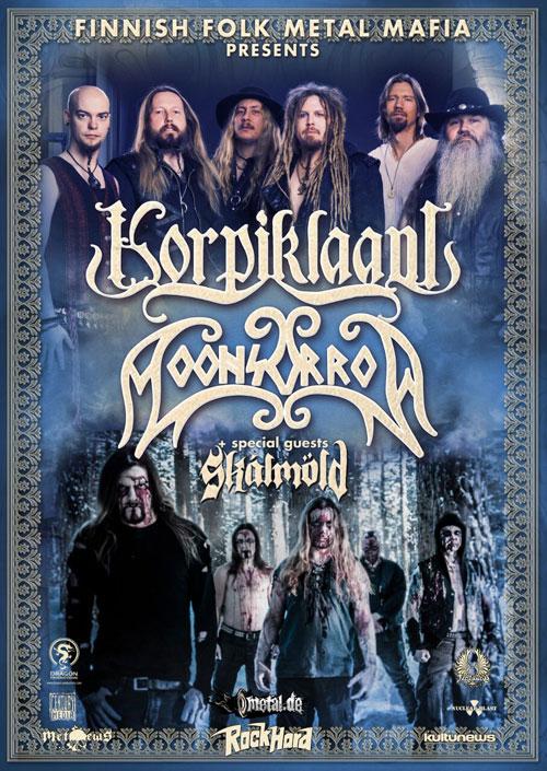 picture KORPIKLAANI & MOONSORROW + special guest SKALMÖLD