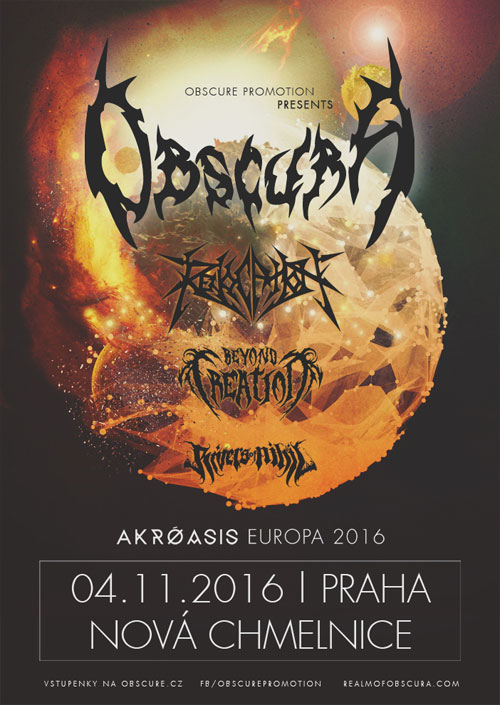 picture OBSCURA (GER): AKROASIS EU TOUR 2016