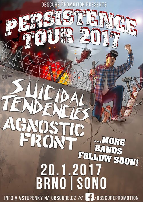 picture SUICIDAL TENDENCIES (USA) + AGNOSTIC FRONT (USA)