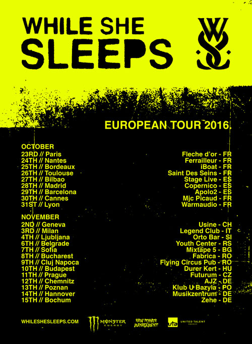 picture WHILE SHE SLEEPS (UK)
