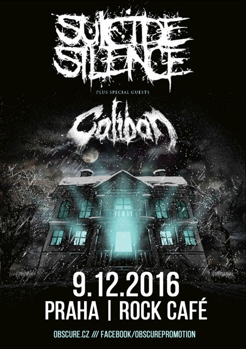 picture CALIBAN (GER) + SUICIDE SILENCE (USA)