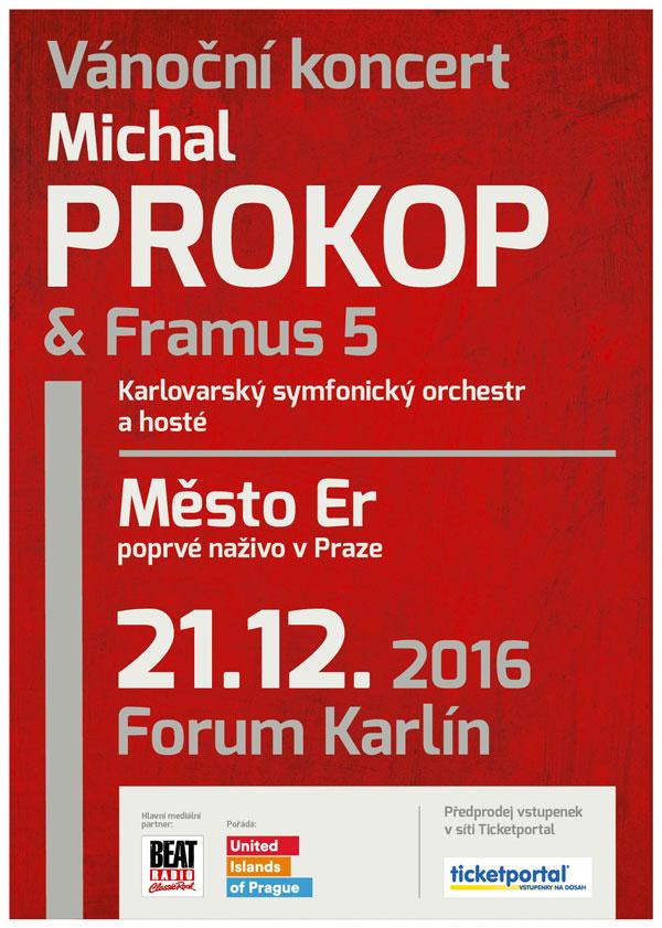 picture Vánoční koncert Michala Prokopa