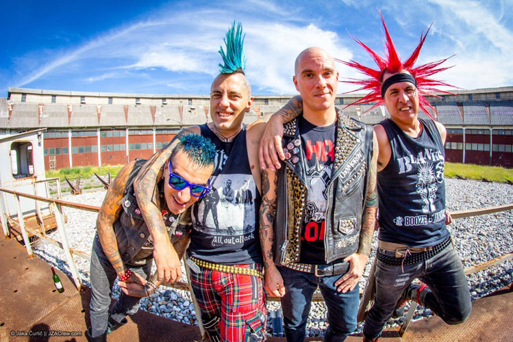 picture THE EXPLOITED (UK) & THE CASUALTIES (USA)