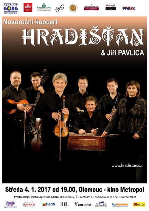picture HRADIŠŤAN & Jiří Pavlica - Novoroční koncert