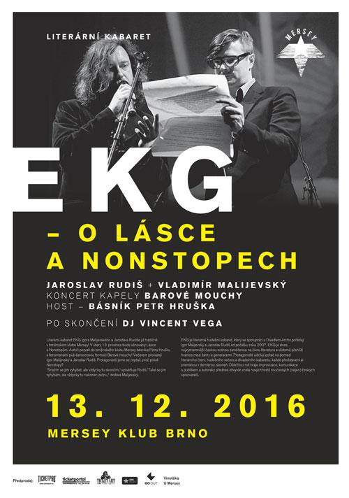 picture Rudiš / Malijevský: EKG O lásce a nonstopech