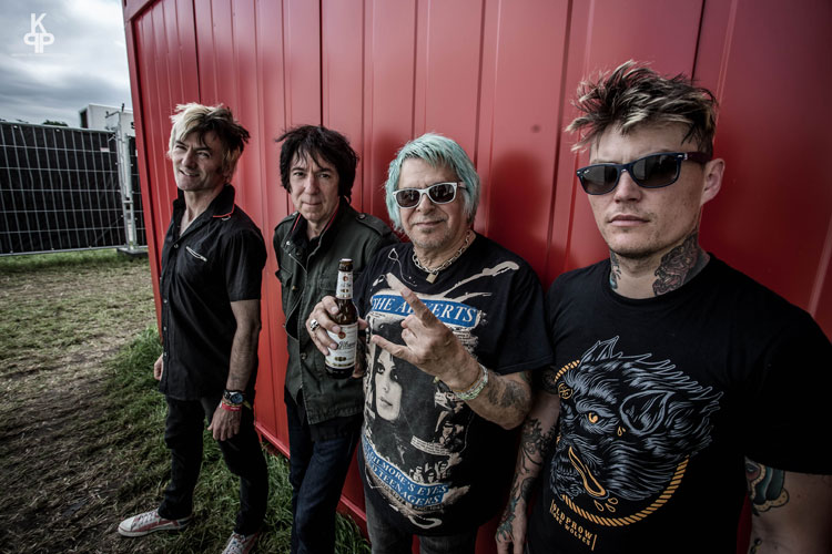 picture UK SUBS / UK + support: TV SMITH / UK