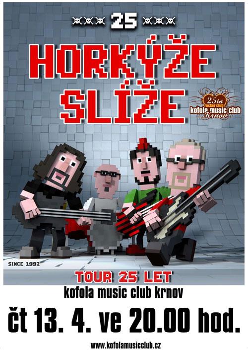 picture HORKÝŽE SLÍŽE 25 LET TOUR 2017