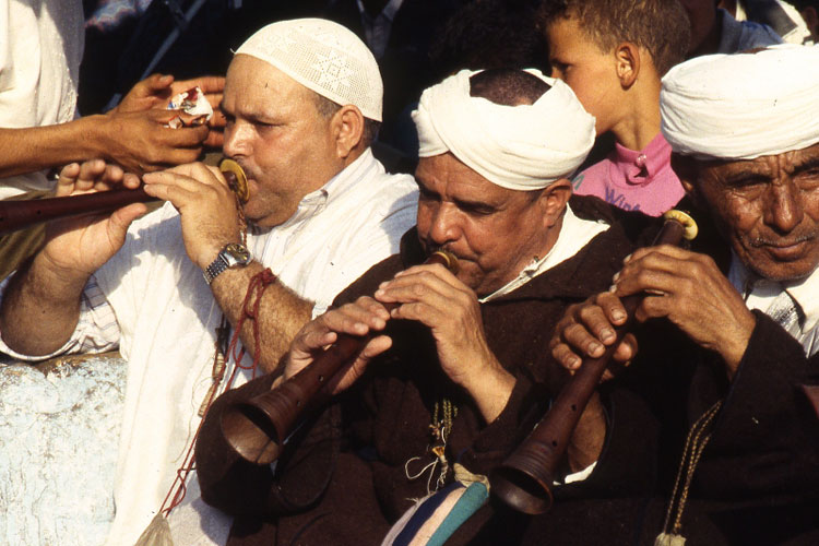 picture Master Musicians of Jajouka led by Bachir Attar