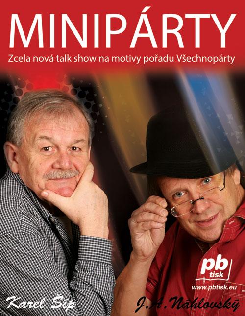 picture MINIPÁRTY / KAREL ŠÍP, J.A. NÁHLOVSKÝ