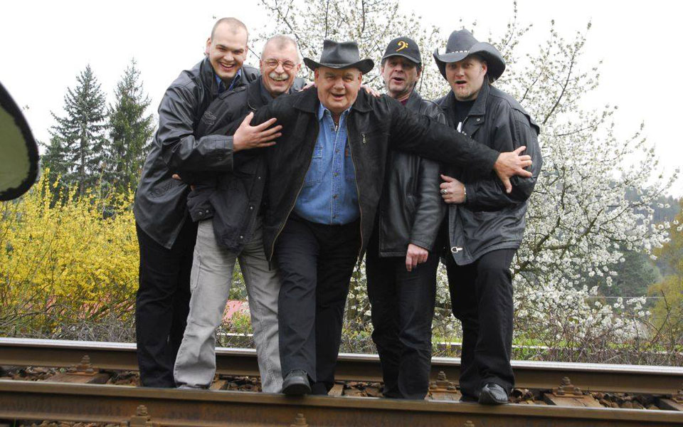 picture František Nedvěd a kapela Tiebreak