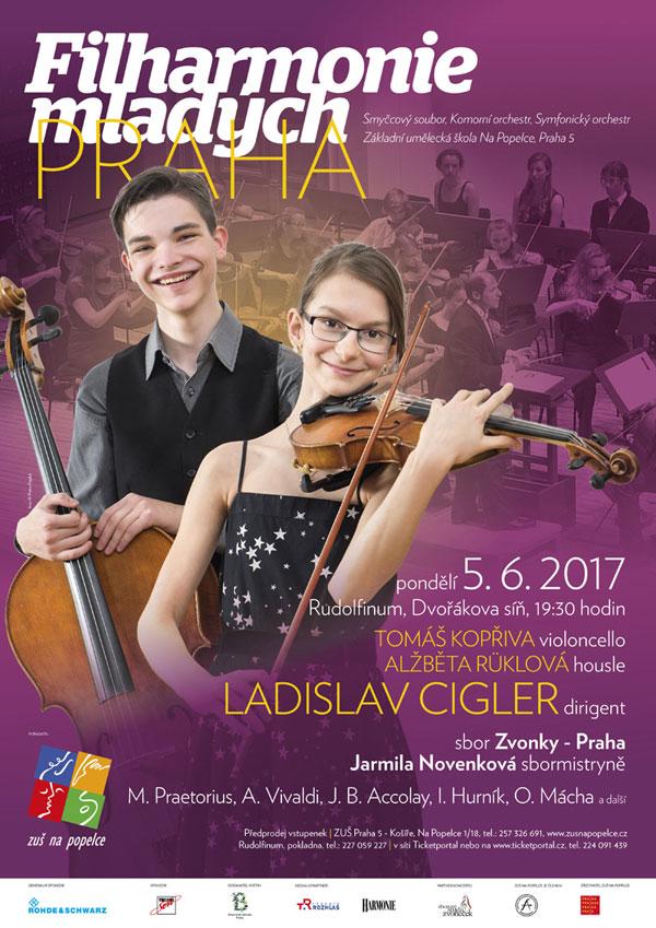picture Filharmonie mladých Praha v Rudolfinu