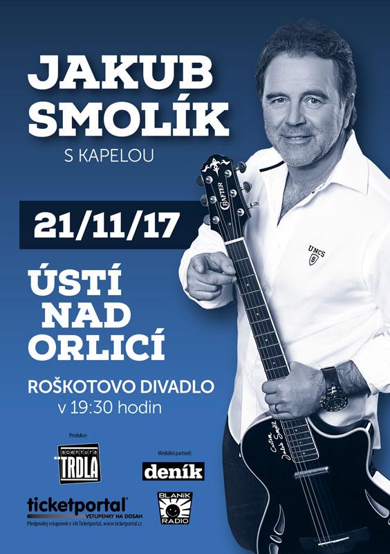 picture JAKUB SMOLÍK s kapelou - Ústí nad Orlicí