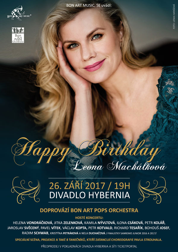 picture Leona Machálková - Happy Birthday