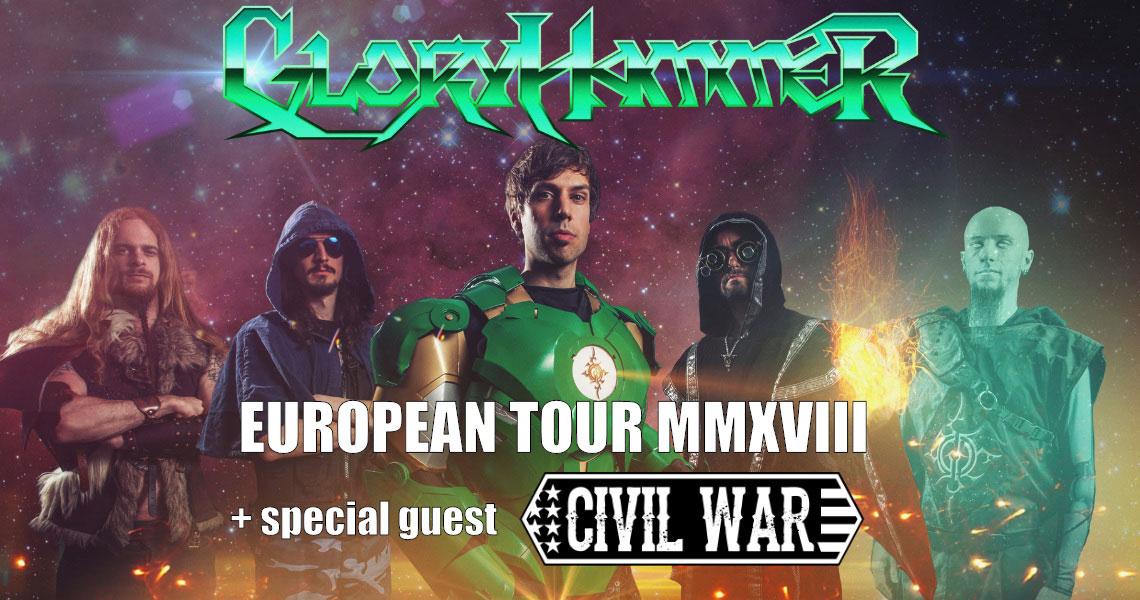 picture GLORYHAMMER: European Tour MMXVIII