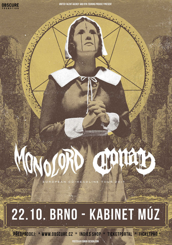 picture MONOLORD (SWE) & CONAN (UK)