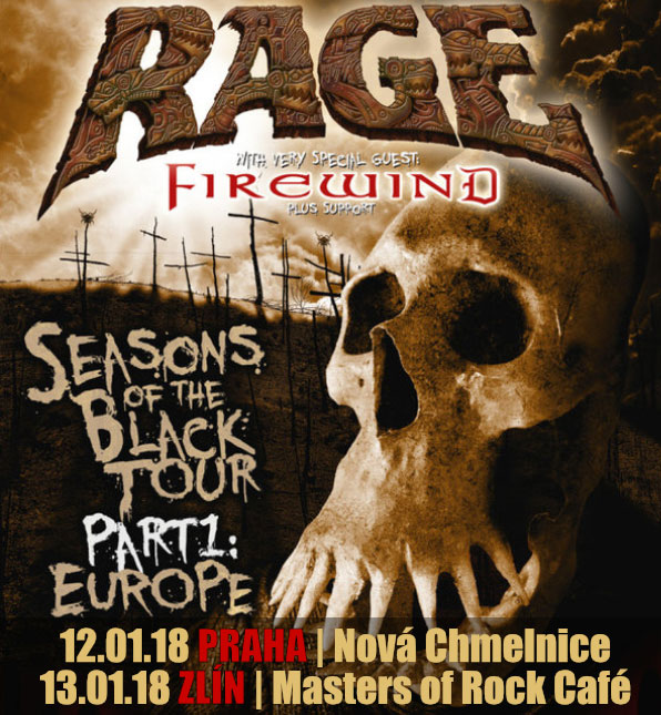 picture RAGE (DE) - Seasons of the Black Tour 2018