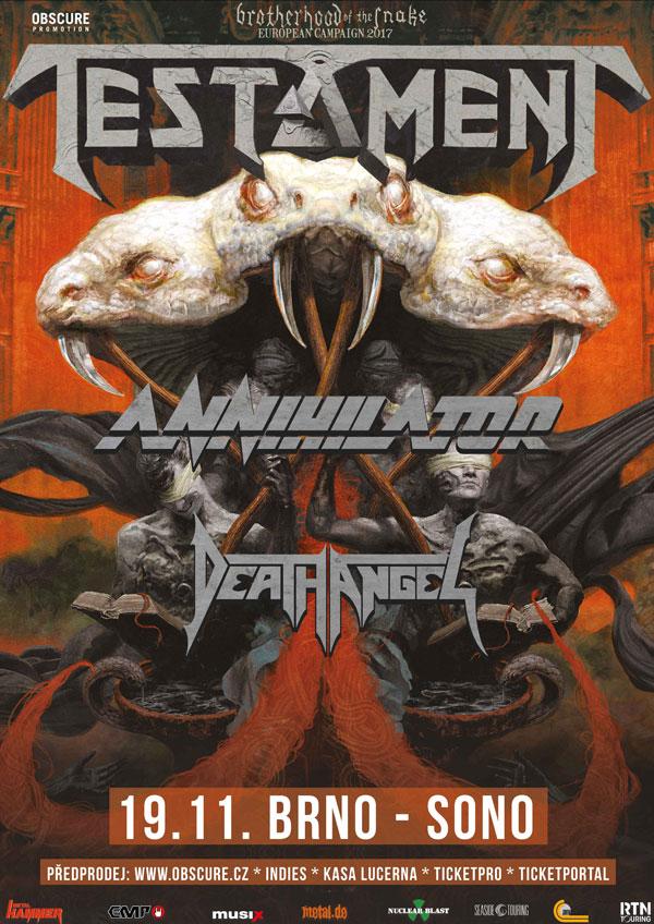 picture TESTAMENT (US) w/ Annihilator + Death Angel