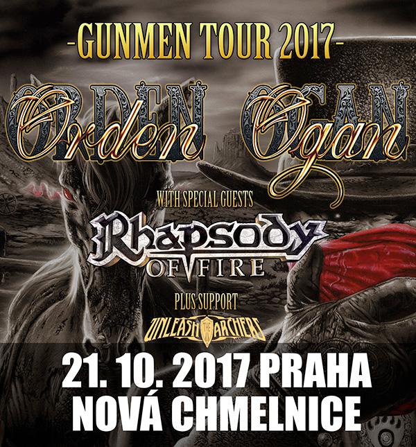 picture ORDEN OGAN (DE) - GUNMEN TOUR 2017