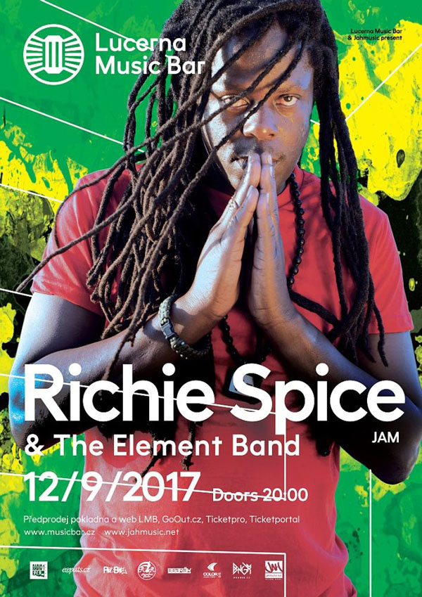 picture RICHIE SPICE & THE ELEMENT BAND / JAM