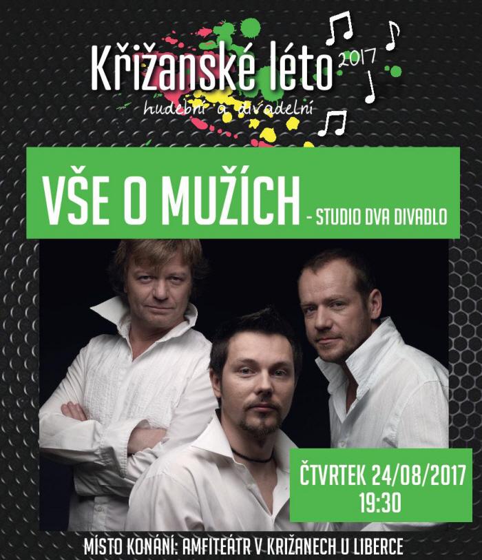 picture VŠE O MUŽÍCH / Studio DVA divadlo, Křižanské léto