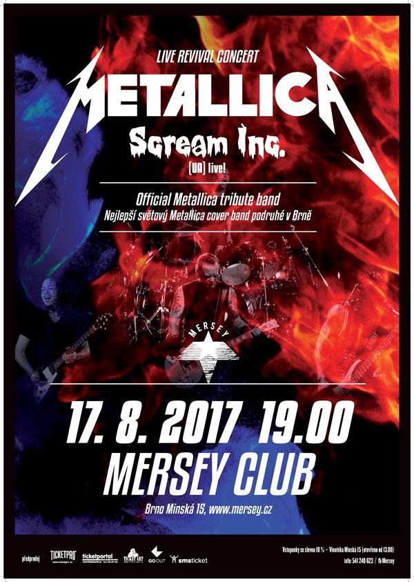 picture Scream Inc. (UA) live ! / Metallica Tribute Band