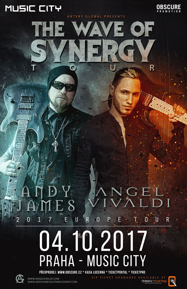picture ANDY JAMES (UK) & ANGEL VIVALDI (USA)